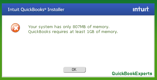 Error: Your system has only xxxMB of free memory