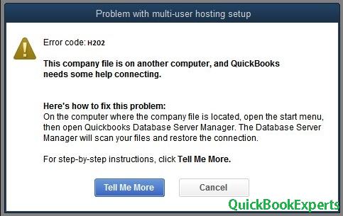 fix Error H101, H202, H303, and H505in QuickBooks