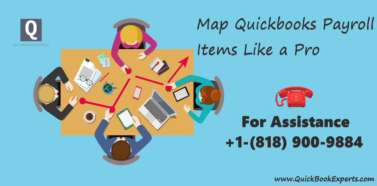 Map QuickBooks Payroll Items
