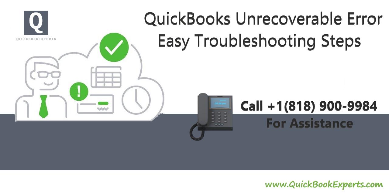 Unrecoverable error in QuickBooks