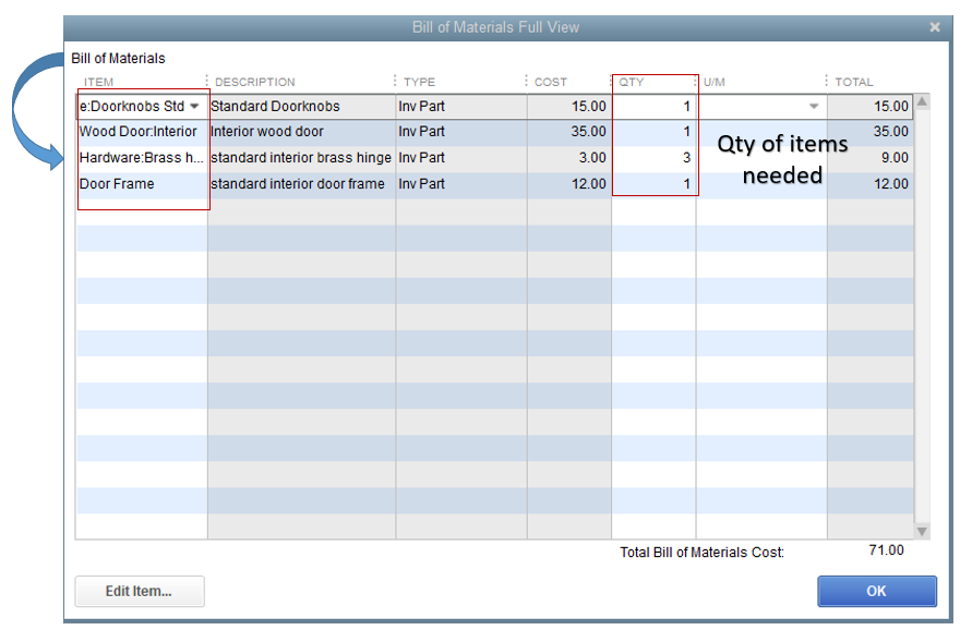quickbooks inventory stock reports
