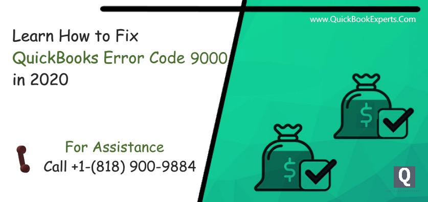 QuickBooks Error Code 9000
