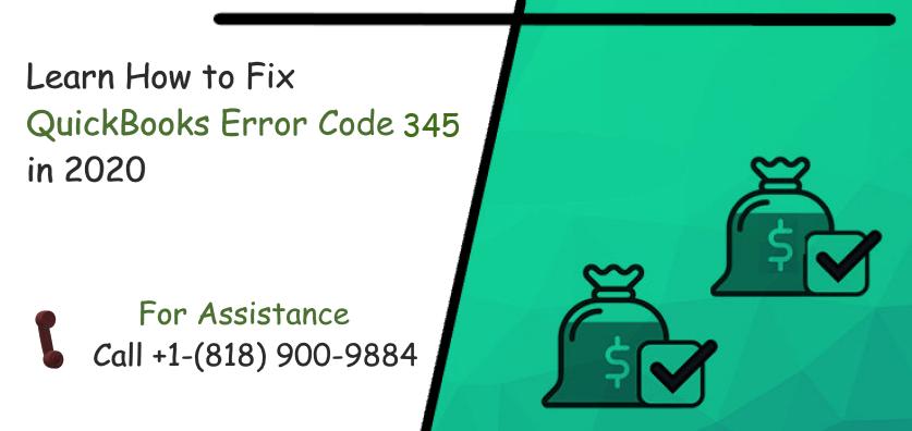 QuickBooks Error Code 345