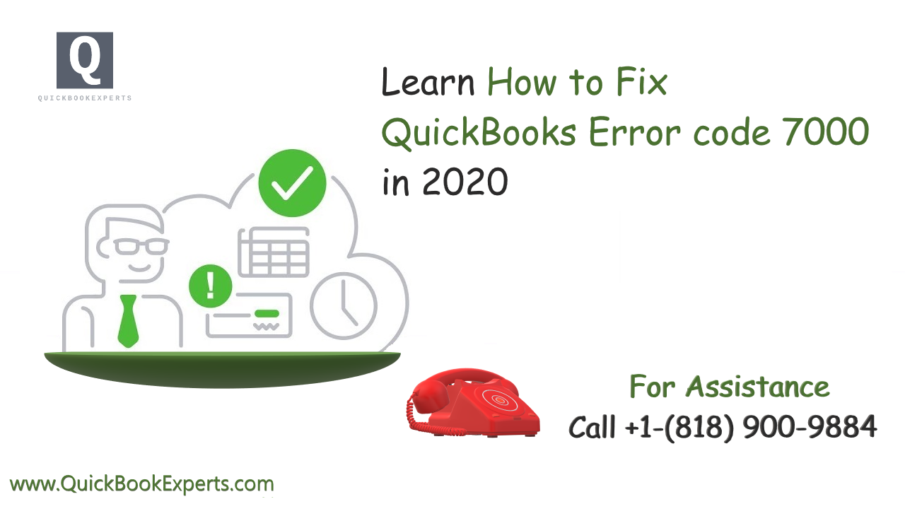 QuickBooks Error Code 7000