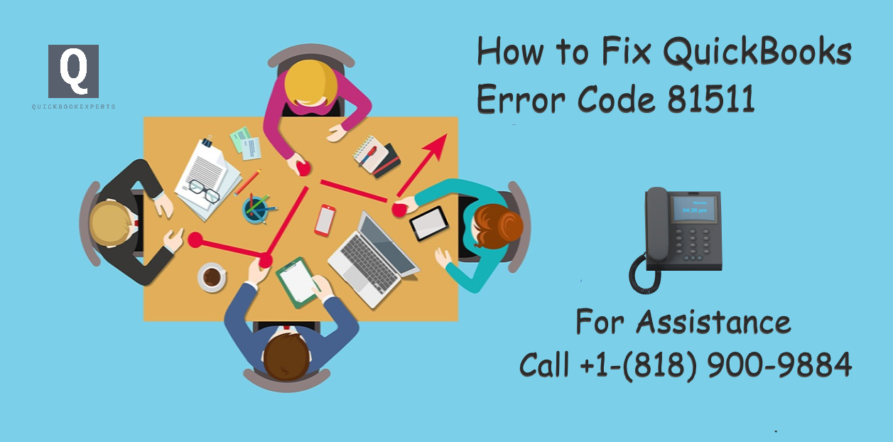 How to Fix QuickBooks Error Code 81511