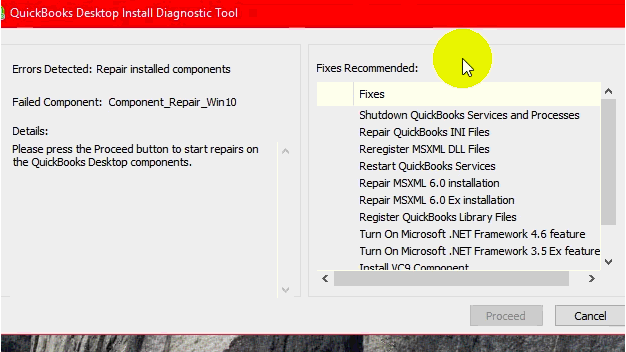 QuickBooks Company File Diagnostic Tool
