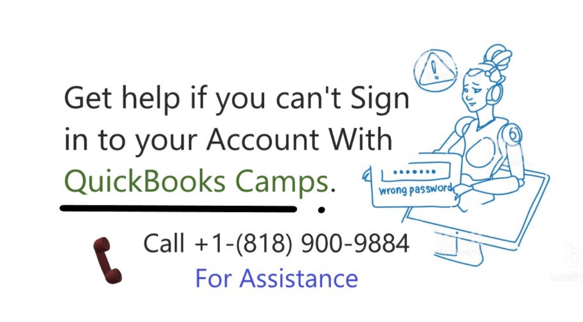 get help if you can't signin your account with QuickBooks Camps