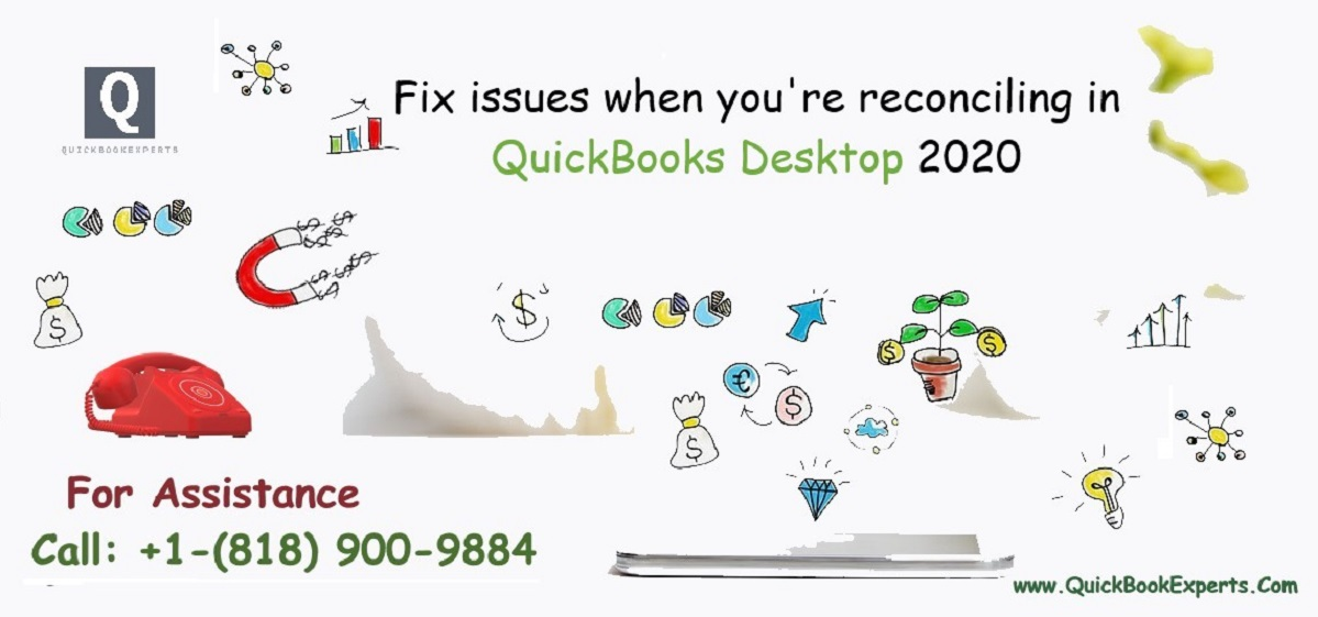Fix issues when you're reconciling in QuickBooks Desktop